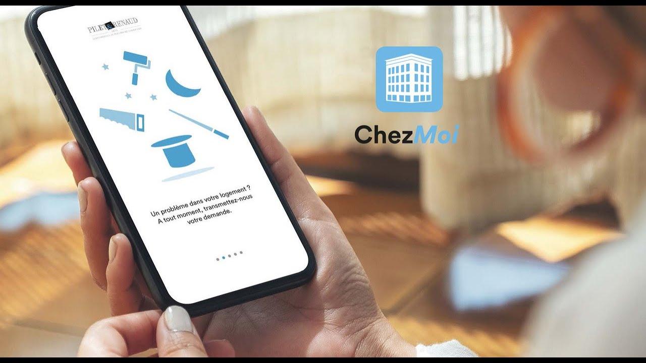 """Découvrez notre nouvelle application locataires """"Chez Moi"""""""